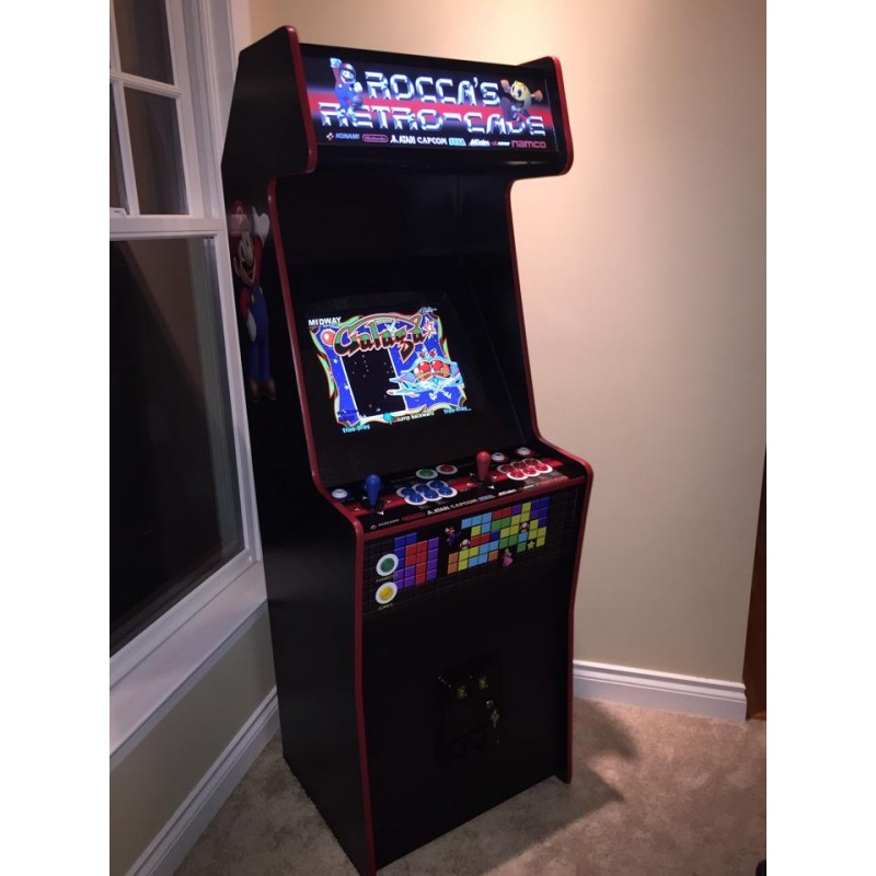2 Player Arcade Machine - Commercial Model - Arcade Time Machine ...