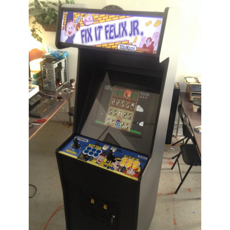Diy Kits 2 Player Stand Up Arcade Time Machine