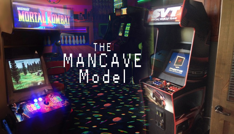 Man Cave Arcade Facebook : Arcade time machine machines and parts canada